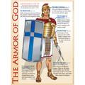 Armor of God Wall Chart - Laminated