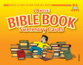 Bible Study Guide Bible Book Summary Cards Extra Large Color (11x14)