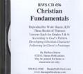 RWS #56 CD - Christian Fundamentals