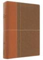 NIV Life Application Study Bible, Caramel/Dark Chocolate Duo-Tone