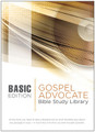 Gospel Advocate Bible Study Library BASIC Edition CD-ROM/Download Code