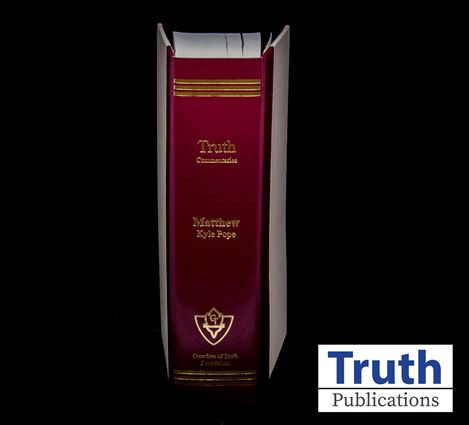 Classic Truth Commentary - Matthew (HB)