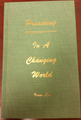 Preaching In A Changing World HB
