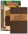 Bible NIV Adventure Bible Chocolate/Toffee Safari (colored page edges)