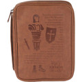 Bible Cover MED Vinyl Full Armor of God