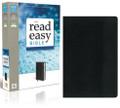 Bible NIV Read Easy Black/Black Duo-Tone