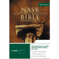 Bible NASB GP Ref Burgundy Bonded Leather