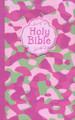 Bible NKJV Camouflage Pink Cloth