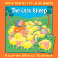 Lost Sheep: A Spot-the-Difference Jigsaw Book