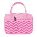 Bible Cover LG Pink Chevron Handbag Style