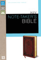 Bible NIV Note-Taker's Bible Brown Italian Duo-Tone Leather