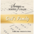 Songs for Worship & Praise CD 22 - God's Family
