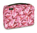 Bible Cover - Camo Bubblegum LG