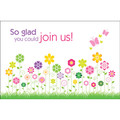 Postcard - So Glad You Could Join Us! (25pk)