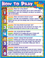 How to Pray for Kids Wall Chart