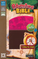 Bible NIrV Adventure Bible Early Readers Chocolate/Hot Pink (colored page edges)