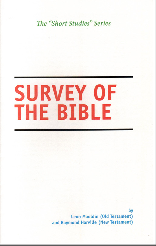 short studies series survey of the bible cei bookstore truth