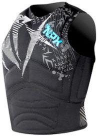 Flotation vest for kiteboarding