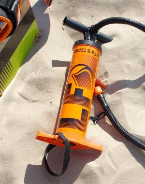 Liquid Force kiteboarding pump