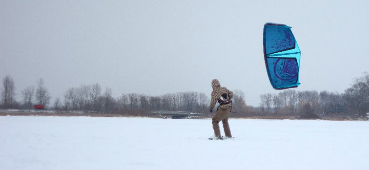 Snow Kite Lesson