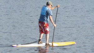 Stand Up Paddleboarding - Paddling