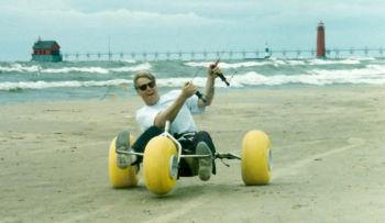 Steve kite buggying