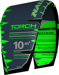 2019 Naish Torch with ESP Kiteboarding Kite - Green/Grey