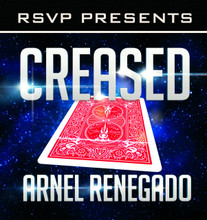 Creased DVD artwork front cover