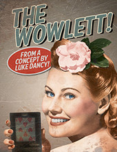 The Wowlett -  wallet with Wow gimmick