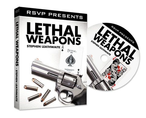 leathal weapon dvd from stephen leathwaite