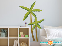 Palm Trees Fabric Wall Decals - Sunny Decals