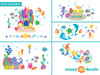 Under the Sea Fabric Wall Decals Collection - Sunny Decals
