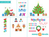 Christmas Fabric Wall Decals - Full Collection - Sunny Decals