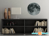 Moon Fabric Wall Decal - Space Wall Decor - Available in 2 Sizes - Sunny Decals