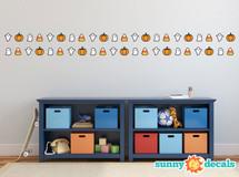 Halloween Set- Candy Corn, Ghost, and Pumpkins