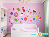 Candy Wall Decals - Sunny Decals