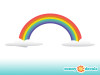 Rainbow Wall Decals - Detailed - Sunny Decals