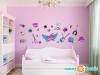 Rock Star Wall Decals - Standard - Girls - Sunny Decals