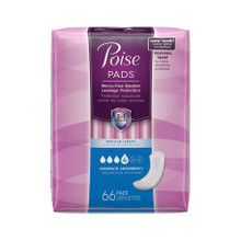 Poise Moderate Absorbency Regular Length Pads