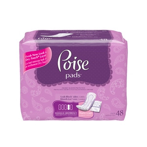 Poise Max Absorbency With Soft Shield Pads