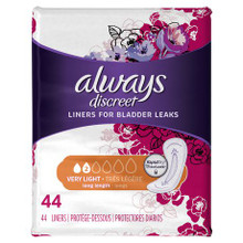 Always Discreet Very Light Long Length Pads