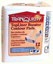 Tranquility TopLiner Contour Booster-Pads