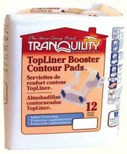 Tranquility TopLiner Super-Plus Contour Booster-Pads