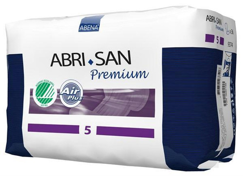 Abena Abri-San Air Plus Premium 5 - Moderate to Heavy Pads