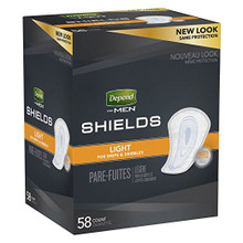 Depend Shields for Men Light Absorbency