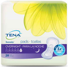 Sample of TENA Serenity Overnight Pads