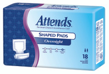 Sample of Attends Extended Wear Shaped Pads