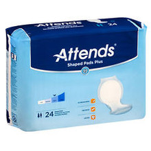 Attends Shaped Day Plus Pads