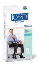 Jobst Men's Dress, Knee High Closed Toe 8-15mmHg