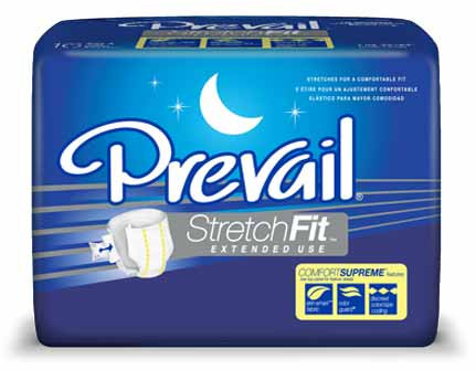 Prevail StretchFit Extended Use Ultimate Absorbency Briefs